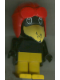 Minifig No: fab4d  Name: Fabuland Figure Crow 1 with Aviator Helmet and Black Eyes