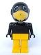 Minifig No: fab4e  Name: Fabuland Figure Crow 2