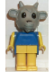 Minifig No: fab5h  Name: Fabuland Figure Goat 2