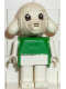 Minifig No: fab7b  Name: Fabuland Figure Lamb 2