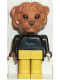 Minifig No: fab7e  Name: Fabuland Figure Lion 1