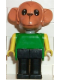 Minifig No: fab8d  Name: Fabuland Figure Monkey 4