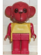 Minifig No: fab8g  Name: Fabuland Figure Monkey 8