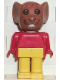 Minifig No: fab9a  Name: Fabuland Figure Mouse 1