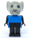 Minifig No: fab9c  Name: Fabuland Figure Mouse 4