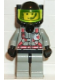 Minifig No: fire002  Name: Fire - City Center 2, Light Gray Legs with Black Hips, Black Breathing Helmet, Airtanks