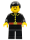 Minifig No: firec002  Name: Fire - Classic, Black Male Hair