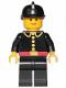 Minifig No: firec004  Name: Fire - Classic, Black Fire Helmet