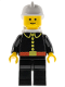 Minifig No: firec018  Name: Fire - Classic, White Fire Helmet, White Airtanks