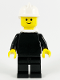 Minifig No: firec028  Name: Fire - Old, White Fire Helmet, White Airtanks