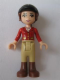 Minifig No: frnd158  Name: Friends Olivia, Tan Riding Pants, Red Jacket, Black Riding Helmet