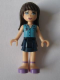 Minifig No: frnd159  Name: Friends Sophie, Dark Blue Skirt, Medium Blue Blouse