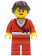 Minifig No: fst017  Name: FIRST LEGO League (FLL) Nature's Fury Female