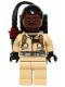 Minifig No: gb004  Name: Dr. Winston Zeddemore - with Proton Pack (idea006)
