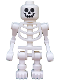 Minifig No: gen038  Name: Skeleton, Fantasy Era Torso with Standard Skull, Mechanical Arms Bent