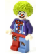 Minifig No: gen051  Name: Birthday Clown
