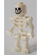 Minifig No: gen099  Name: Skeleton with Standard Skull, Bent Arms Horizontal Grip