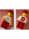 Minifig No: gen101  Name: LEGO Idea House Minifigure - LEGO Logo with Website Address on Back