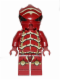 Minifig No: gs008  Name: Alien Buggoid, Dark Red
