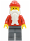 Minifig No: hol003  Name: Santa, Dark Bluish Gray Legs