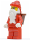 Minifig No: hol004  Name: Santa, Red Legs, Glasses, D-Basket