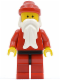 Minifig No: hol007  Name: Santa, Red Legs with Black Hips