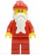 Minifig No: hol009  Name: Santa, Red Legs
