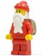 Minifig No: hol034  Name: Santa, Red Legs, Backpack