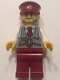 Minifig No: hol079  Name: Winter Holiday Train Ticket Collector (10254)