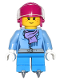 Minifig No: hol081  Name: Ice Hockey Player Girl