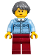 Minifig No: hol092  Name: Winter Holiday Train Station Grandmother (10259)