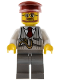 Minifig No: hol096  Name: Christmas Train Ride Driver