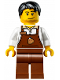 Minifig No: hol098  Name: Christmas Train Ride Barista
