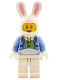 Minifig No: hol116  Name: Easter Bunny Guy