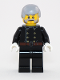 Minifig No: hol120  Name: Fire - Jacket with 8 Buttons, Light Bluish Gray Male Hair