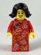 Minifig No: hol138  Name: Mother, Chinese New Year's Eve Dinner