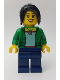 Minifig No: hol145  Name: Women in Green Jacket