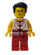 Minifig No: hol147  Name: Dragon Boat Race Team Red/White Member 1