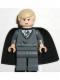 Minifig No: hp024  Name: Draco Malfoy, Dark Bluish Gray Sweater, Cape