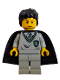 Minifig No: hp031  Name: Tom Riddle, Slytherin Torso, Light Gray Legs
