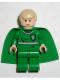 Minifig No: hp053  Name: Draco Malfoy, Green Quidditch Uniform, Light Flesh