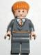 Minifig No: hp055  Name: Ron Weasley, Gryffindor Stripe Torso