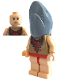 Minifig No: hp068  Name: Viktor Krum, Shark Head
