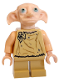 Minifig No: hp105  Name: Dobby (Elf) - Light Flesh