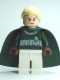 Minifig No: hp108  Name: Draco Malfoy, Dark Green and White Quidditch Uniform