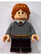 Minifig No: hp151  Name: Ron Weasley, Gryffindor Sweater
