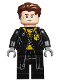 Minifig No: hp179  Name: Cedric Diggory, Black and Yellow Uniform