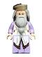 Minifig No: hp190  Name: Albus Dumbledore, Lavender Robe, Dark Tan Hat (75948)