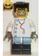 Minifig No: hrf004  Name: Mad Scientist