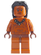 Minifig No: iaj015  Name: Ugha Warrior with Hair